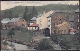 +++CPA - TROIS PONTS - Le Moulin Crismer - Couleur 1908  // - Trois-Ponts