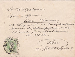 Österreich Brief 1882 - Cartas