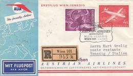 Österreich Luftpost Brief 1960 - Poste Aérienne