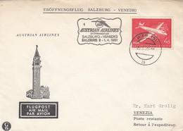 Österreich Luftpost Brief 1961 - Poste Aérienne