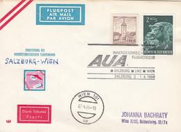 Österreich Luftpost Brief 1964 - Poste Aérienne