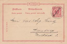 Deutsches Reich Kolonien Marshall Inseln Postkarte P6 1901 - Colony: Marshall Islands