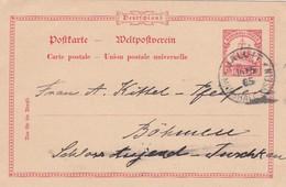 Deutsches Reich Kolonien Marshall Inseln Postkarte P12 1905 - Colony: Marshall Islands