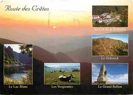 68 - Hautes Vosges - La Route Des Cretes - Multivues - CPM - Voir Scans Recto-Verso - Andere Gemeenten