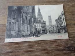Gand Panorama Du Beffroi Et De L'église Cathédrale - Gent
