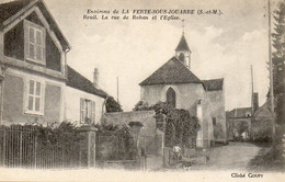 Environs De La Ferte Sous Jouarre - Reuil - Rue De Rohan Et L'Eglise - Sin Clasificación