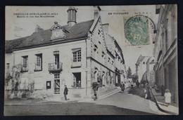 Preuilly- Sur Claise - Mairie Et Rue Des Boucheries - Otros Municipios