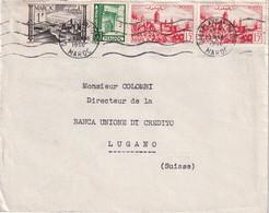 MAROC 1950 LETTRE DE CASABLANCA - Briefe U. Dokumente