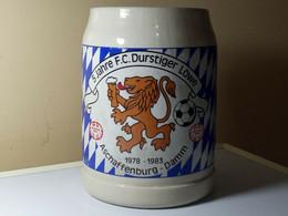 CHOPE 5 JAHRE F.C. DURSTIGER LOWE- ASCHAFFENBURG -DAMM1978-1983 - Cups