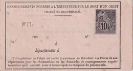 COLONIES GENERALES  DOCUMENT POSTAL - Alphée Dubois