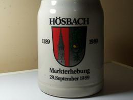 CHOPE HOSBACH.1189-1989. MARKTERHEBUNG. 29 SEPTEMBRE 1989 - Cups
