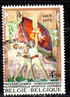 B+ Belgien 1973 Mi 1726 Sportvereine - Oblitérés