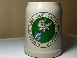 CHOPE A BIERE. AUSBURG-BAYERN. 1986-ODF- TAGUNG - Cups