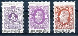 D - [150792]SUP//**/Mnh-N° 1551/53, Du Bloc 48, Exposition Philatélique BELGICA 72, Timbres Sur Timbres, SNC - Unused Stamps