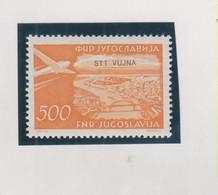 YUGOSLAVIA,1954 TRIESTE B Airmail  Stamp MNH - Ungebraucht