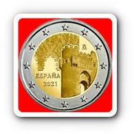 WC - Spain 2 Euro 2021Commemorative UNESCO TOLEDO - UNC NEW NEW NEW - España