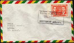 Bolivia 1955 CEFIBOL 611s No Emitido Circulado La Paz-Uyuni. Railroad. Not Issued Circulated From La Paz To Uyuni. - Bolivia