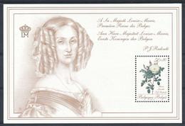D - [152957]TB//**/Mnh-BL66, Roses De Redouté, Maria Léonida, Sheet, Reine Louise-Marie, SNC - Blocks & Sheetlets 1962-....