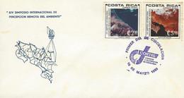 COSTA RICA SYMPOSIUM On REMOTE SENSING Of The ENVIRONMENT Sc C780-1 FDC 1980 - Costa Rica