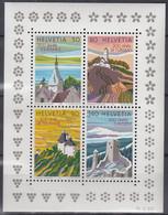 SCHWEIZ Block 25, Postfrisch **, 200 Jahre Tourismus 1987 - Blocks & Kleinbögen