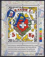 SCHWEIZ Block 30, Postfrisch **, NABA St. Gallen 2000 - Blocks & Kleinbögen