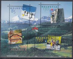 SCHWEIZ Block 39, Postfrisch **, 100 Jahre Naturfreunde 2005 - Blocks & Kleinbögen