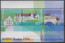 SCHWEIZ Block 40, Postfrisch **, NABA 2006 - Blocks & Kleinbögen
