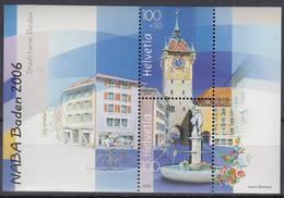 SCHWEIZ Block 41, Postfrisch **, NABA 2006 - Blocks & Kleinbögen