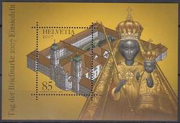 SCHWEIZ Block 42, Postfrisch **, Tag Der Briefmarke: Einsiedeln 2007 - Blocks & Kleinbögen