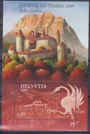 SCHWEIZ Block 45, Postfrisch **, Tag Der Briefmarke: Gryere 2009 - Blocks & Kleinbögen