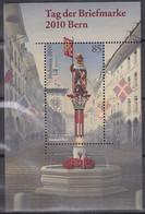 SCHWEIZ Block 46, Postfrisch **, Tag Der Briefmarke: Bern 2010 - Blocks & Kleinbögen
