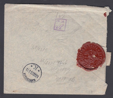 1915. RUSSIA. 2 Ex 10 KOP On REG-cover Cancelled ST PETERSBURG -8 3. 15 To Kopenhagen... () - JF369088 - Storia Postale