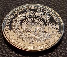"""Samoa 10 Tala 1992 (Silver) """"FORTIETH ANNIVERSARY OF REIGN"""" - Samoa"""