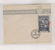 CROATIA WW II, EXPO 1943 FDC Cover Engrawer S Seizinger - Croacia
