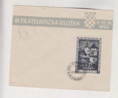 CROATIA WW II, EXPO 1943 FDC Cover - Croacia