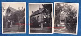 3 Photos Anciennes Snapshot - VERSAILLES - Rue Gilbert De Guingand - Aspect D' Une Maison - Extérieur & Intérieur - - Places