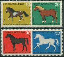 Berlin 1969 Tiere Pferde 326/29 Postfrisch - Neufs