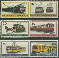 Berlin 1971 Verkehrsmittel Schienenfahrzeuge Bahnen 379/84 Postfrisch - Neufs