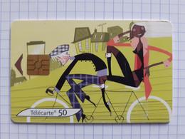 F1308 120U GEM 12/03 Le Vélo Carte N°4/4 - 2003