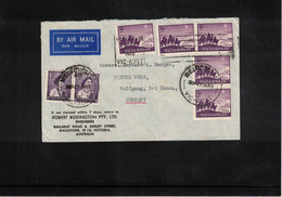Australia 1960 Interesting Airmail Letter - Briefe U. Dokumente