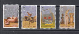 1995 Swaziland Traditional Handicrafts  Complete Set Of 4 MNH - Swaziland (1968-...)
