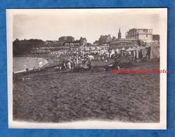 Photo Ancienne Snapshot - SAINT QUAY - La Plage - Septembre 1928 - Histoire Portrieux Cotes D' Armor Bretagne - Places