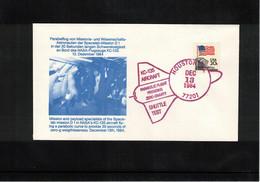 USA 1984 Space / Raumfahrt Space Shuttle Test Interesting Letter - Stati Uniti