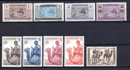 Colonies Françaises Mauritanie 1913/38 13 Timbres Différents     0,40 €   (cote 3,84 €  9 Valeurs) - Oblitérés