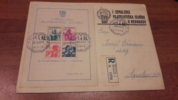 Old Letter - Yugoslavia, Blok 1, ZEFIB 1937, Beograd - FDC