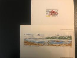 3EDL Et 1BF St Pierre Et Miquelon - Blocks & Sheetlets
