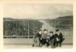 FRONTIERE NORVEGE SUEDE 1954 PHOTO ORIGINALE 9 X 6 CM - Places