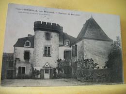 24 7573 CPA 1908 - 24 BONNEVILLE, PRES MONCARET. CHATEAU DE VALLADOU. - Altri Comuni