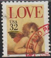 USA 1995 Scott 2948 Sello º Love Angelito Michel 2543 Yvert 2324 Estados Unidos United States Stamps Timbre États Unis - Usados