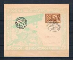 HELVETIA   1927   Airpost       Lausanne-la Chaux- De-fonds/locle    ENVELOPE - Ohne Zuordnung